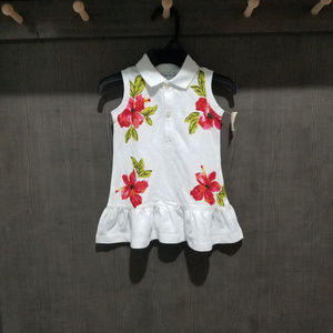 NWT-Ralph Lauren White Dress - Size 9 Months